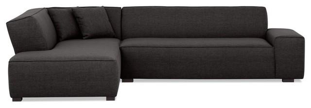 ecksofa dallas anthrazit rechts schmaler fu moderne canap d 39 angle par fashion4home gmbh. Black Bedroom Furniture Sets. Home Design Ideas