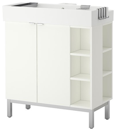 LILLÅNGEN Sink cabinet/2 doors/2 end units scandinavian-bathroom-vanities-and-sink-consoles