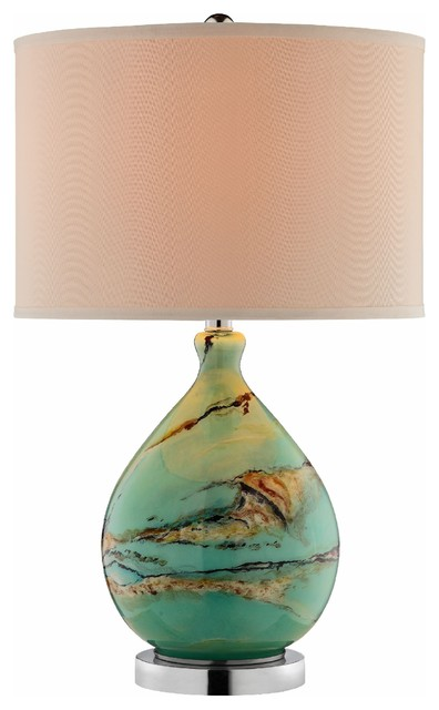 Morenci Glass Table Lamp