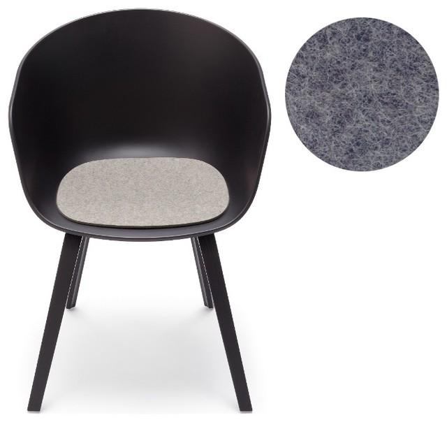 hay about a chair filz sitzauflage anthrazit mit. Black Bedroom Furniture Sets. Home Design Ideas