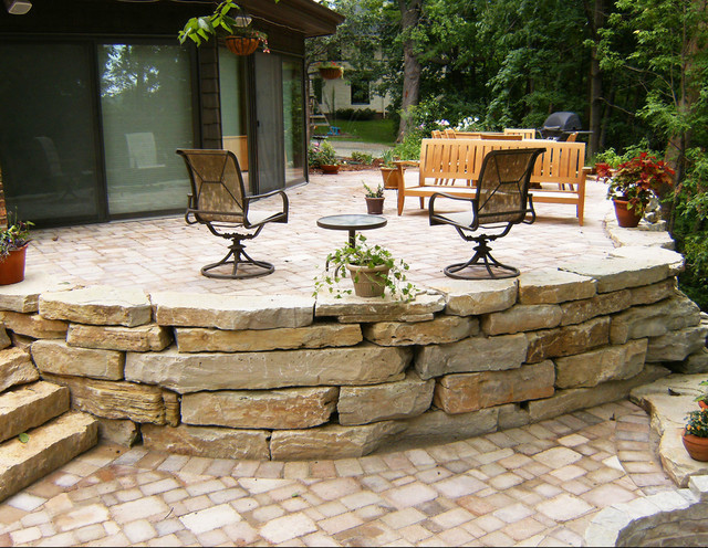 Landscaping With Stone Blocks : Natural landscape stone rustic landscaping stones and