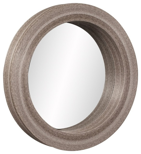 Pier One Round Wall Decor : Pier round mirror contemporary wall mirrors by chic