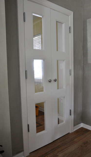 Interior Clear Glass Door