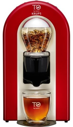 Machine th krups t o by lipton rouge flamme tes00500 contemporain th i re par boulanger - To by lipton krups ...