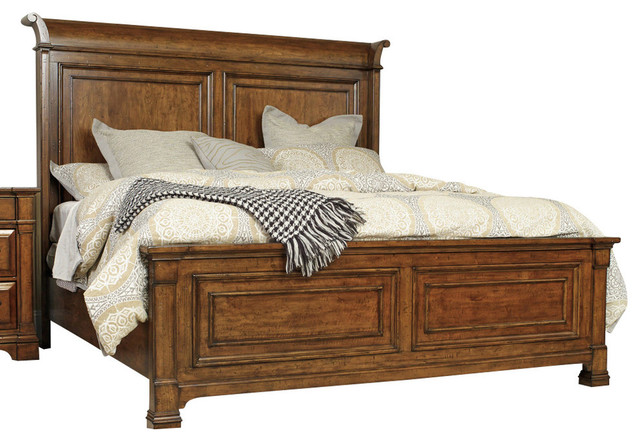 Hooker Furniture Tynecastle Panel Queen Bed Contemporary Panel