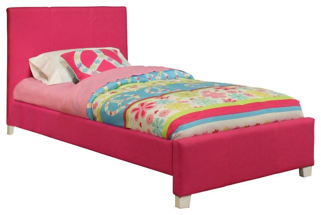 sandberg furniture dulce twin upholstered bedroom set