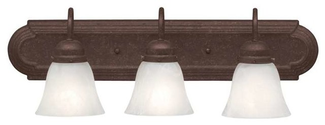 Kichler Lighting 5337tz Arts And Crafts Mission Bathroom Light In Tannery Bronze Traditional