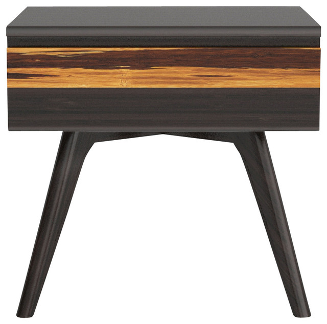 Azara Night Stand Contemporary Nightstands And Bedside