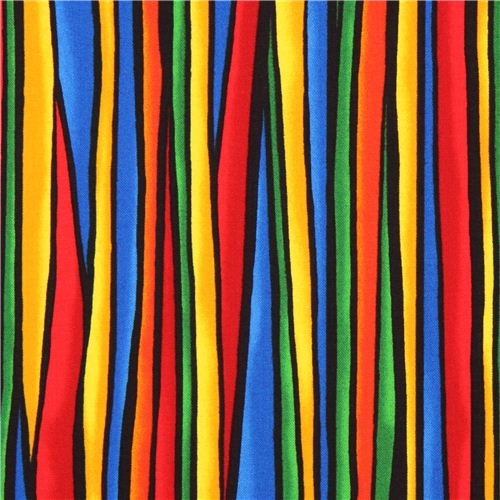 colorful stripe pattern 'Geo Flow' fabric Blank Quilting ...