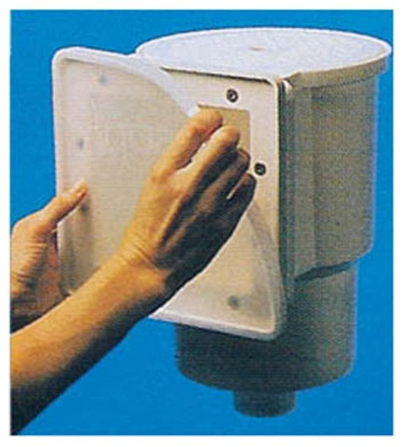 ... in. Skimmer Winter Faceplate contemporary-hot-tub-and-pool-supplies