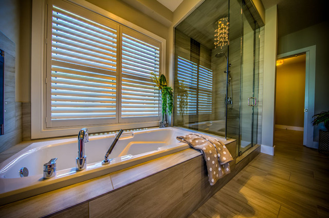Marquee Fresh Modern New Home Contemporary Bathroom Edmonton By Dragon Seed Interior