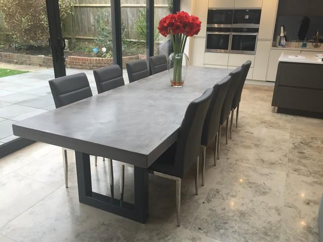 mobel aus beton und holz ihr traumhaus ideen. Black Bedroom Furniture Sets. Home Design Ideas
