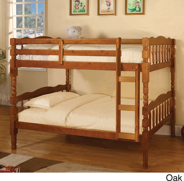 Catalina twin over twin bunk bed with trundle contemporary kids beds