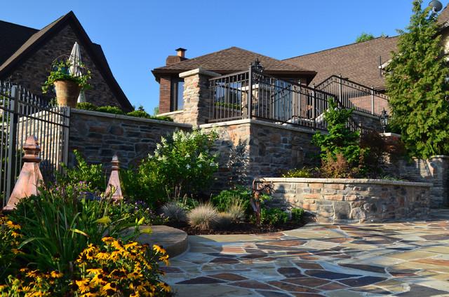 Bath ohio residence for Landscape architects bath