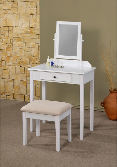 lilette white vanity contemporary bedroom makeup vanities by