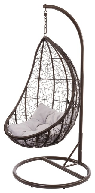 Egg Chair Modern Outdoor Lounge Chairs other metro by Mitre 10 Australia