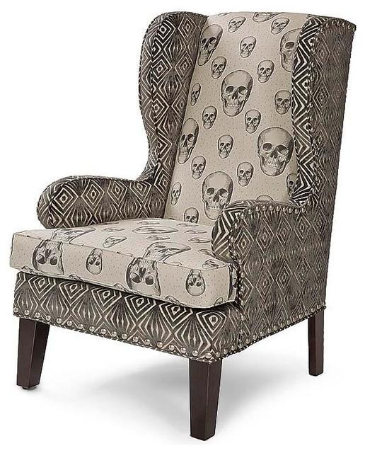 Regina Andrew Skalle Bone Mr Crowley Wingback Chair
