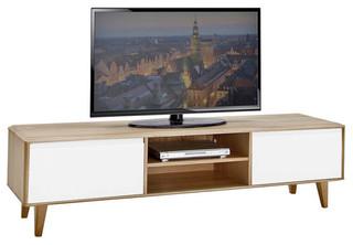 tv schrank ii lovell wei eiche massiv. Black Bedroom Furniture Sets. Home Design Ideas