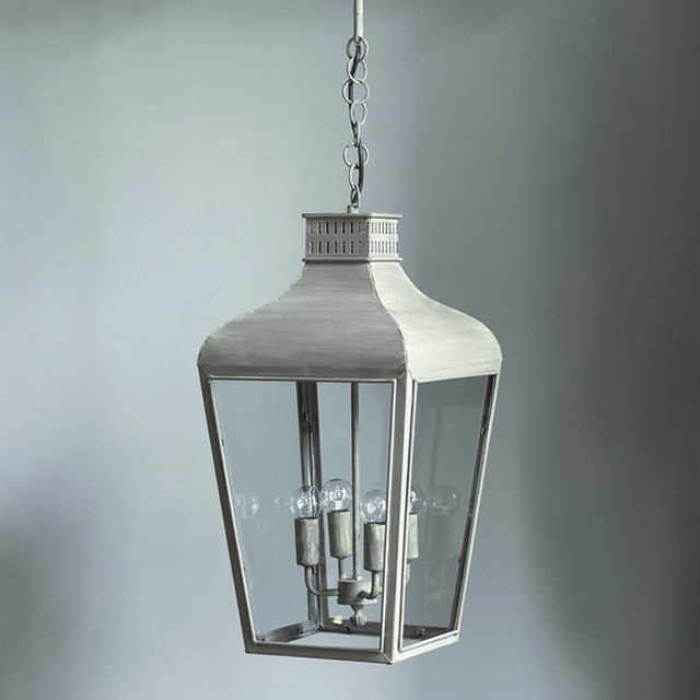 Ashby Lantern Glass Pendant