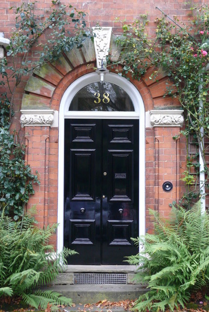 gold house numbers - traditional - front doors - other metro