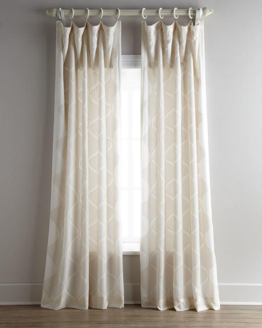 Each bora curtain 55 w x 108 l contemporary curtains for 108 window treatments