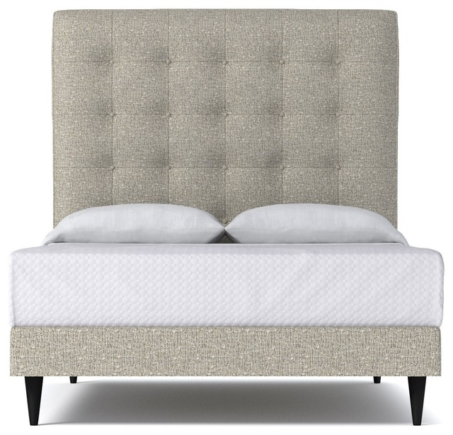 Palmer Upholstered Bed From Kyle Schuneman Straw Retro Camas Japonesas