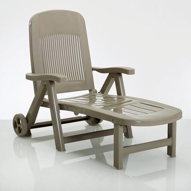 chaise longue pliante r sine contemporain chaise longue et m ridienne par la redoute. Black Bedroom Furniture Sets. Home Design Ideas