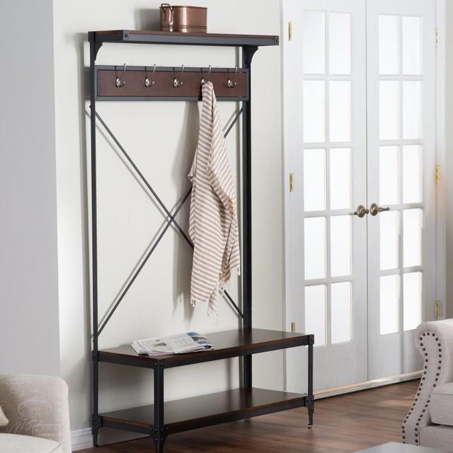 Belham Living Trenton Entry Hall Tree - REDU016 - Contemporary - Storage Cabinets - by Hayneedle
