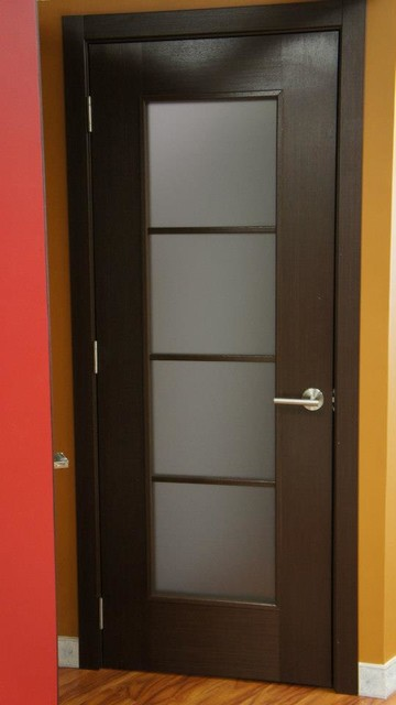 Modern Lux Modern Interior Door Wenge Finish