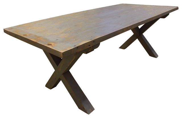 Rustic Farmhouse Table Rustic Dining Tables birmingham by Evolutia
