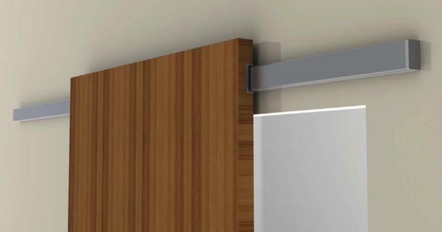 Diva Air - Sliding system for wood door - Modern - Home ...