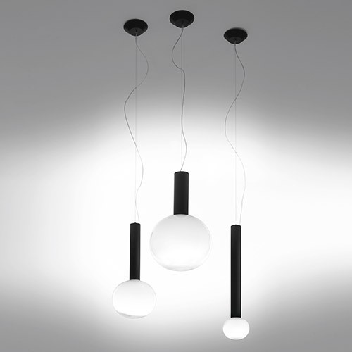 Laguna designer matteo thune artemide contemporain for Suspension luminaire contemporain