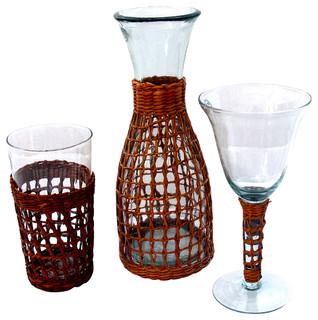 Bali Collection Glassware Set - Tropical - Cups And Glassware - by ...