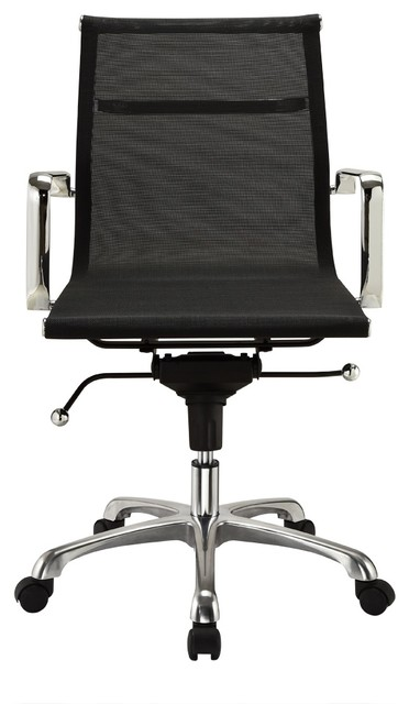 Modern mesh mid back office chair modern office chairs by