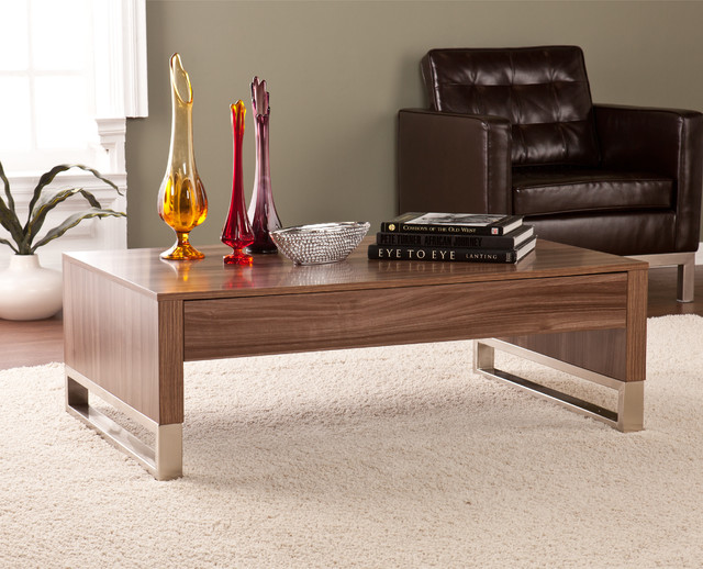 Upton Home Agusta Cocktail Coffee Table Contemporary Coffee Tables By