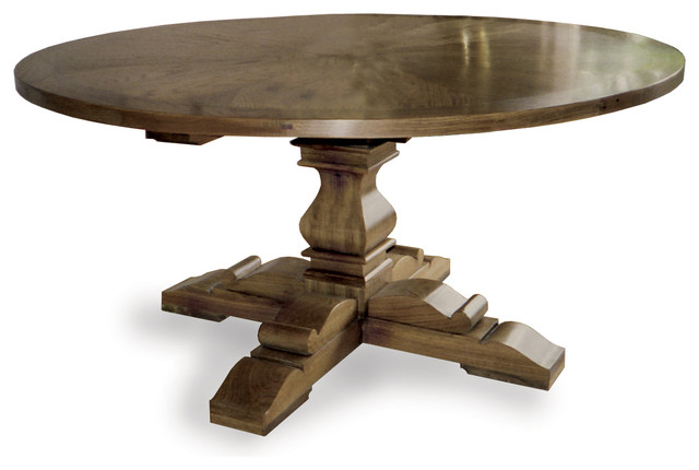 Round Dining Table VALENTINE Traditional Dining Tables