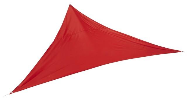rosa voile d 39 ombrage triangulaire orange contemporain accessoire de parasol ext rieur. Black Bedroom Furniture Sets. Home Design Ideas