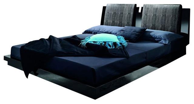 Pillows Black Queen Modern Platform Beds By Urban Expressions