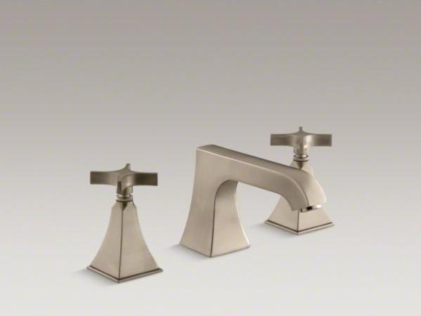 KOHLER Memoirs R Stately Deck Mount Bath Faucet Trim With Non Diverter Spout
