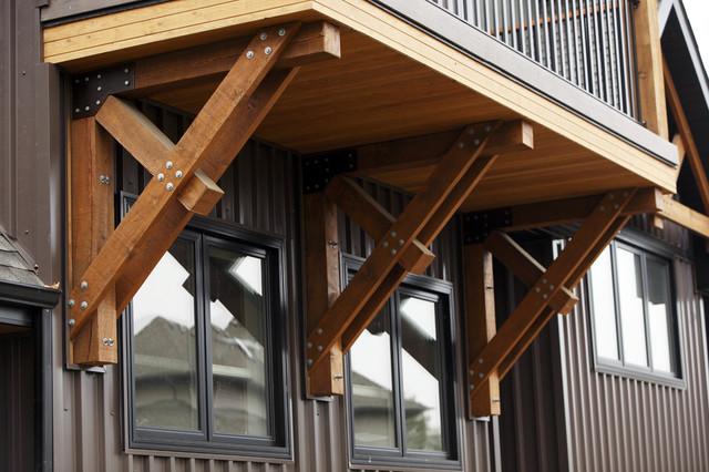 Bracket Traditional Exterior Edmonton By Habitat