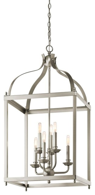 Open Frame Foyer Light : Kichler lighting ni pendant traditional