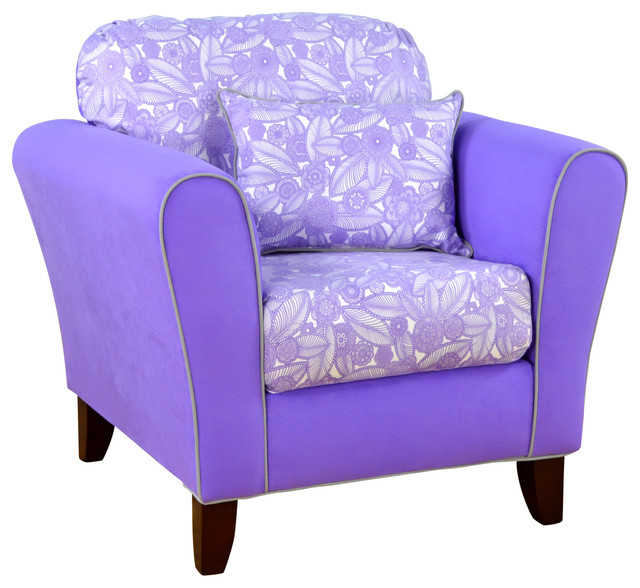 Tween Accent Chair Tribal Floral Plum With Plum Armchairs And Accent Chair