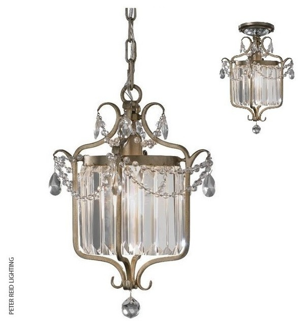 Gianna Duo-Mount Mini Chandelier - Traditional