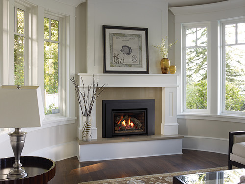 gas fireplace inserts rocks images pictures becuo