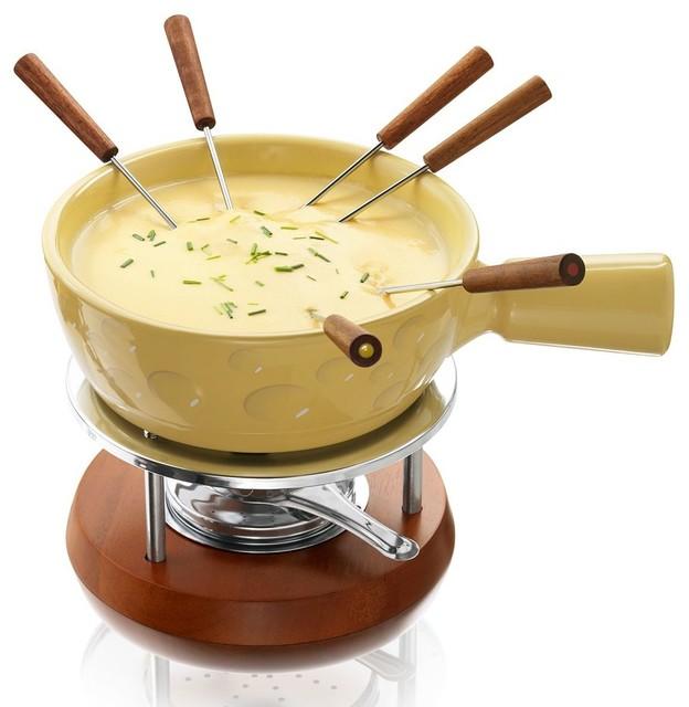 boska holland cheesy fondue set contemporary fondue and raclette sets by kohl 39 s. Black Bedroom Furniture Sets. Home Design Ideas