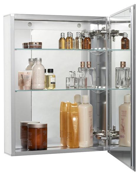 Miseno mmc 101369 single door 20 x26 recessed surface mount medicine cabinet modern - Modern medicine cabinets recessed ...
