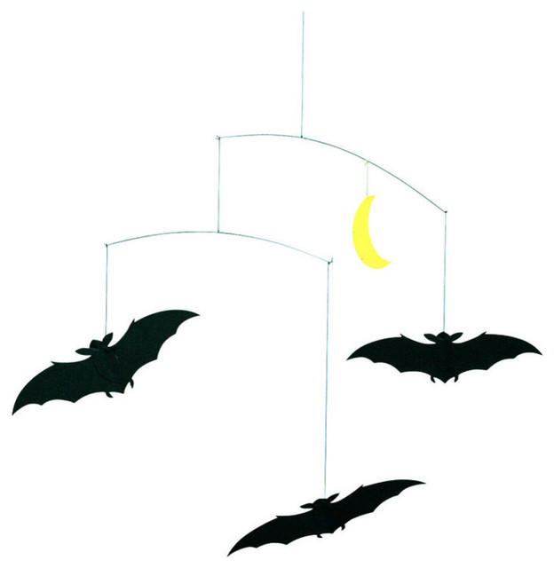 Lucky Bats Mobile Contemporary Baby Mobiles By Design Public