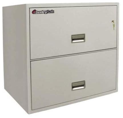 ... Key Lock 2 Drawer Letter File Safe modern-home-office-accessories