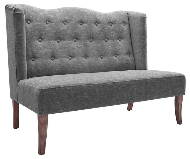 Settee With Tufted Back