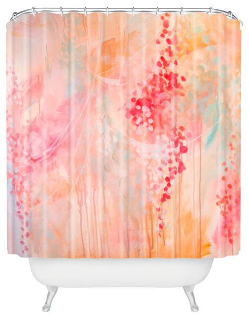 Stephanie Corfee Bubble Bath Shower Curtain Contemporary Shower Curtains